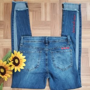 FREESTYLE REVOLUTION ankle jeans